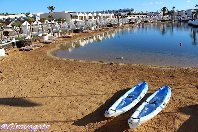 lanzarote sands beach hotel sup