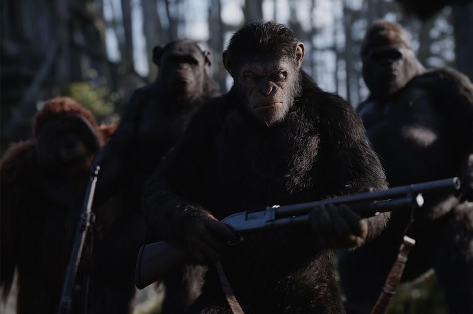 """O fim está próximo no 3º trailer de """"Planeta dos Macacos: A Guerra"""""""