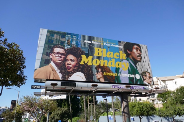 Black Monday season 1 billboard