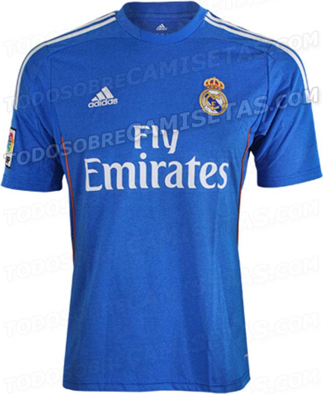 Filtrada  Segunda camiseta Adidas del Real Madrid 2013-14 - Nuevo Fútbol f1e6db53d5248