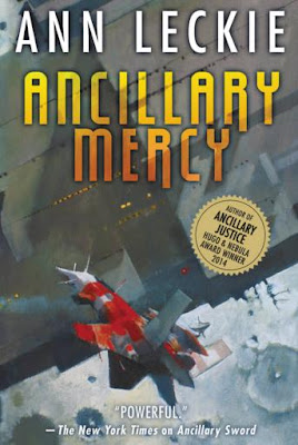Ancillary Mercy by Ann Leckie - book cover