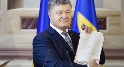Порошенко подписал бюджет на 2019 г