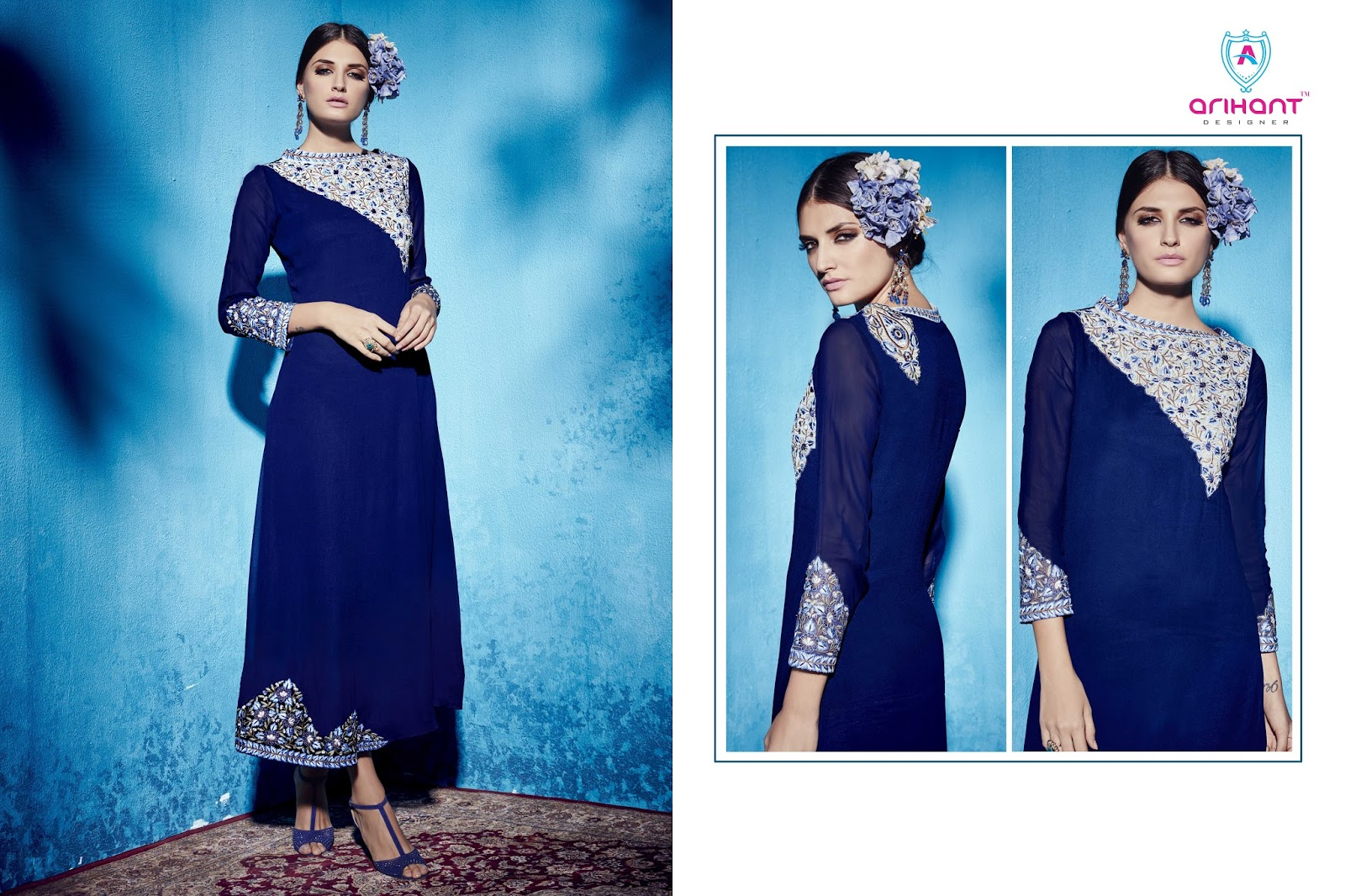 SAFIA- Designer stylist Georgette kurti