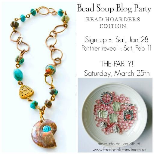 Bead Soup Blog Party - Bead Hoarders