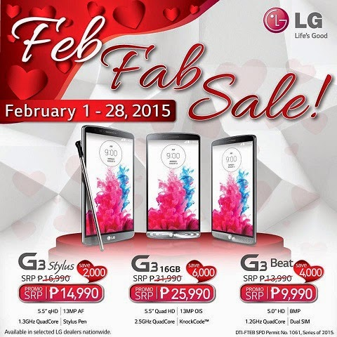 LG G3 Feb Fab Sale - Big Beez Buzz