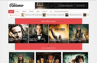 The Reviewer Upgraded Blogger Template