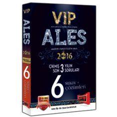 Yargı Yayınları ALES VIP Son 3 Yılın Çıkmış 6 Sınav Soruları ve Çözümleri (2016)