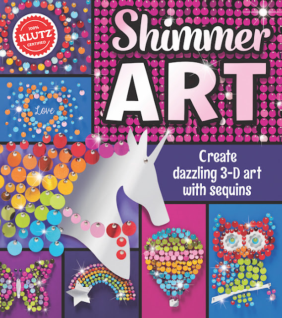 shimmer art klutz craft kit