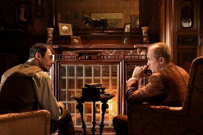 Russian Sherlock Holmes John Watson fireplace 221 B Baker Street new Russian Sherlock Holmes 2013 TV Series