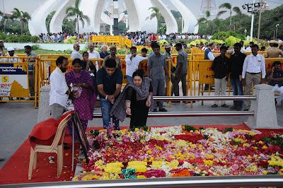 ஜெயலலிதா சமாதியில் அணையா விளக்குடன் நினைவிடம் அமைக்கப்படுகிறது