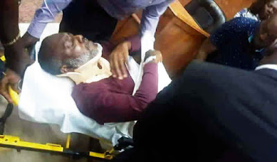 Olisa Metuh Collapses In Court, Judge Reacts Angrily