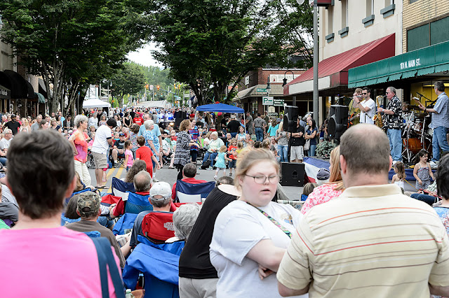 Waynesville Block Party