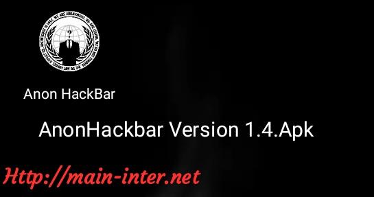 Andro Hackbar Version 1.4.Apk  Exploitasi