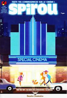 Teste tes connaissances sur le cinéma, Spirou, numéro 4166, année 2018