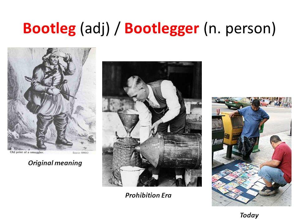EXAMS AND ME : Bootlegger
