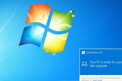Microsoft Mulai Peringati Pengguna Tentang Akhir Windows 7!