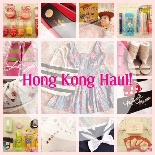 Beauty Haul Hong Kong: Hong Kong Haul: Massive Haul (Clothes, Shoes, Makeup