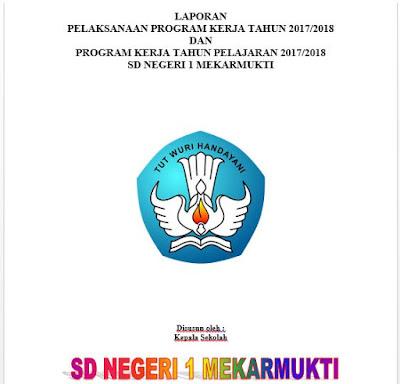 Laporan Program Kerja Kepala Sekolah TP. 2017/2018 dan Program Kerja TP. 2018/219, https://bloggoeroe.blogspot.com/