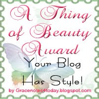 My 1st Thing Of Beauty Award