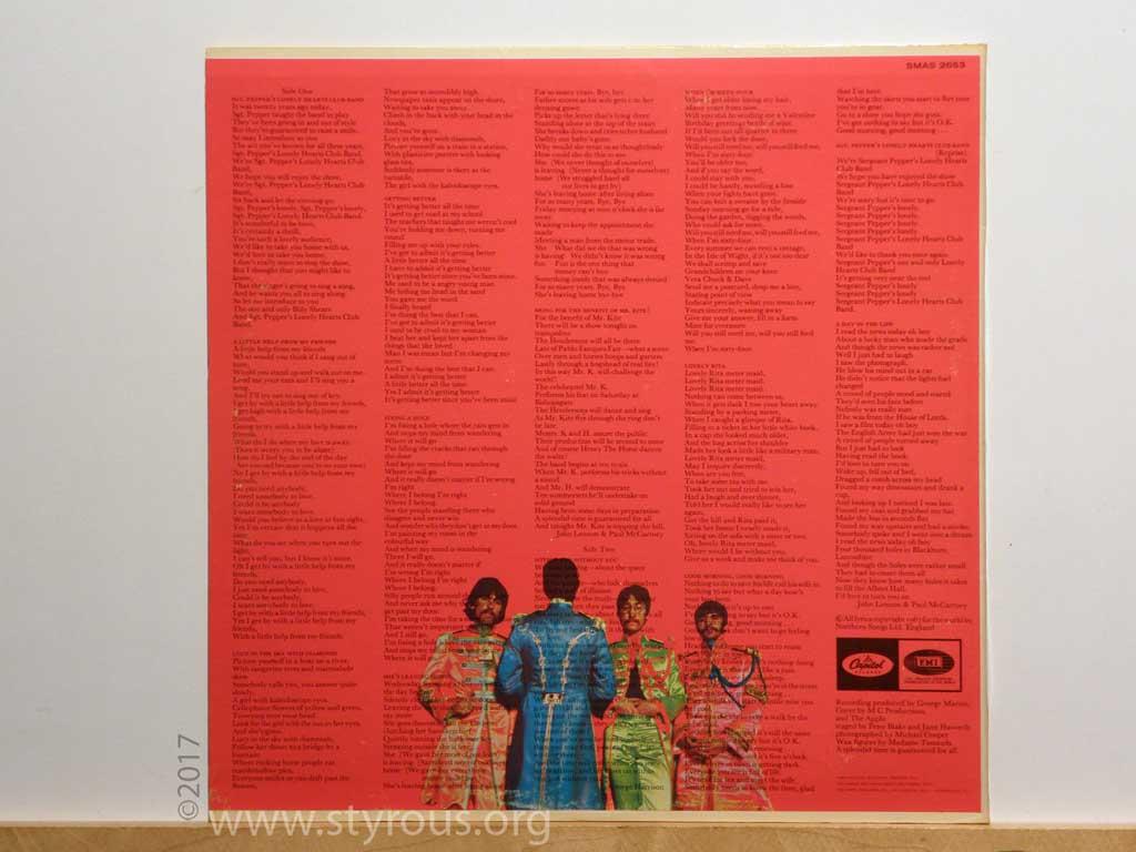 The Styrous 174 Viewfinder 20 000 Vinyl Lps 91 Sgt Pepper