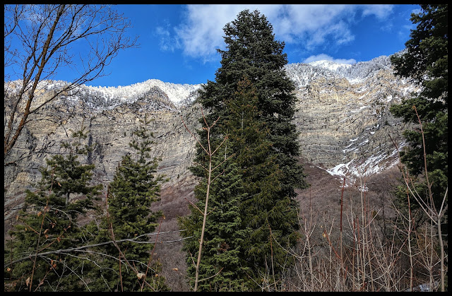 Gorgeous Cascade Mountain Provo Utah from Pole Canyon Trail