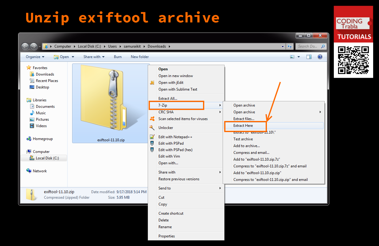 codingtrabla: How to install ExifTool 11 10 metadata editing