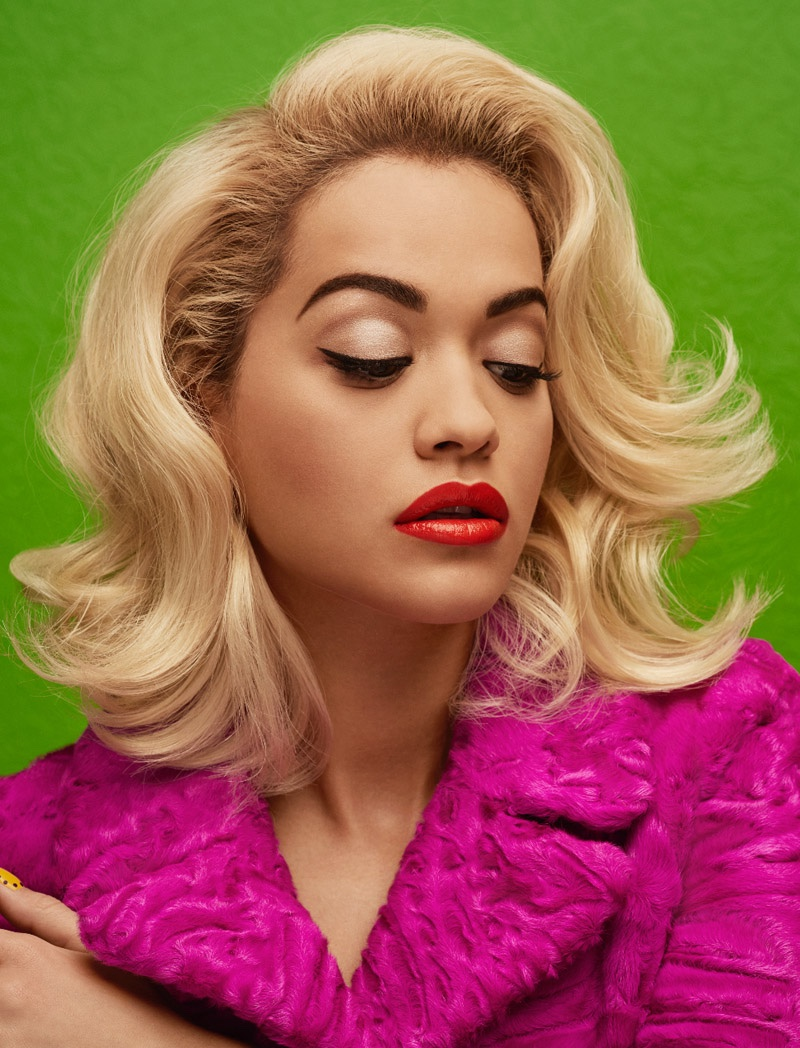 Rita Ora smoulders for Wonderland Magazine