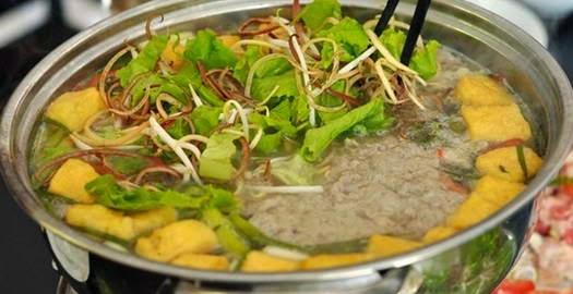 Cách làm món Lẩu riêu cua bắp bò ngon