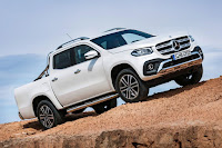 Mercedes-Benz X-Class Power (2018) Front Side 1