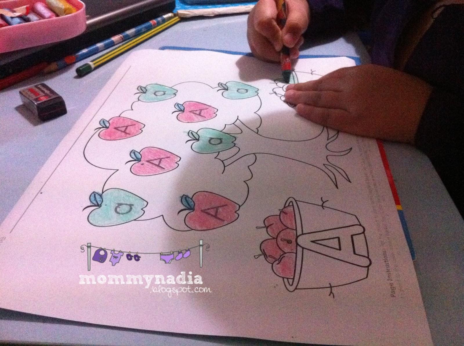 Fabulous Motherhood His Drawing And Coloring Activity