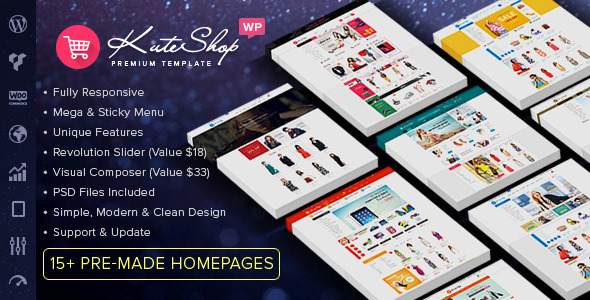 Free Download KuteShop V1.4.9 - Multipurpose WooCommerce Wordpres Theme