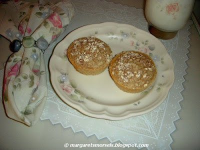 Margaret's Morsels | Oatmeal Muffins