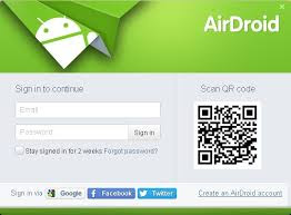 Measures to control the Android remotely using AirDroid