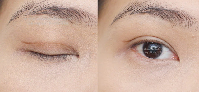 before and after photo of Kate Double Eyelid Remake Liner