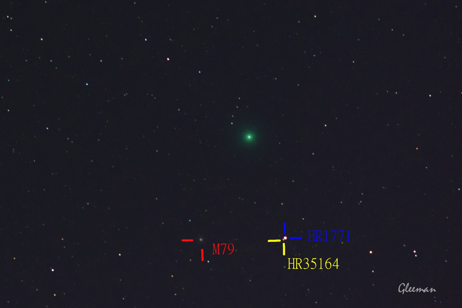 Comet Lovejoy /Pentax K5, O-GPS1 Astrotracer, LPS-P2 filter, DA*200