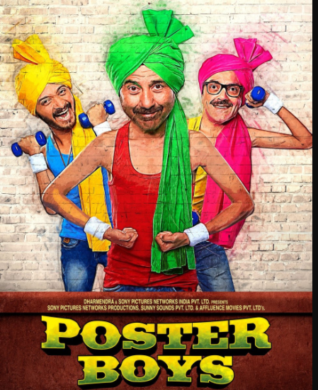 Poster Boys Movie Dialogues    Sunny Deol & Bobby Deol