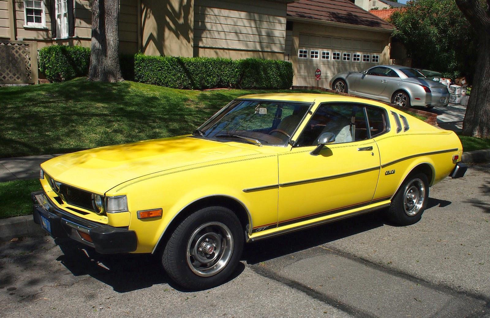 1977 Toyota Celica For Sale: Daily Turismo: 5k: Yellow Bird: 1977 Toyota Celica GT Liftback