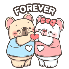 French Bulldog PIGU-Animated Sticker I