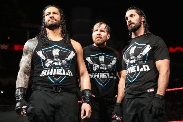 Seth Rollins Vs Roman Reigns Vs Dean Ambrose