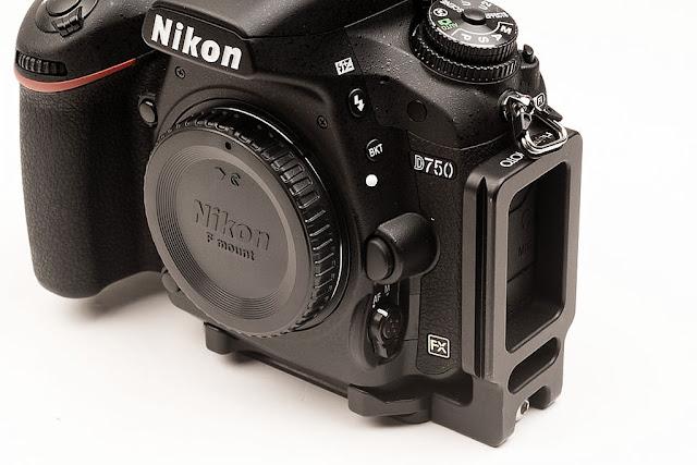 Hejnar PHOTO ND750 L bracket for the Nikon D750