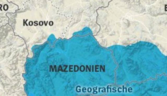Αποκάλυψη Der Spiegel: Ιδού τι θέλουν οι Σκοπιανοί από την Ελλάδα – Ο χάρτης της ντροπής (EIKONA)