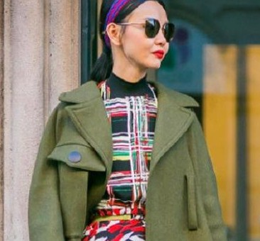 Trik Fashion Tabrak Motif