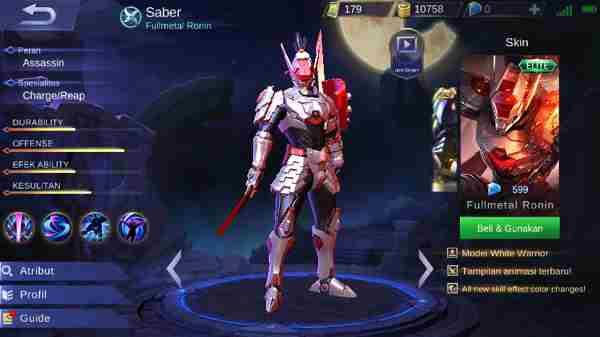 Meta Saber dan Alpha Mobile Legend, Patut Dicoba?