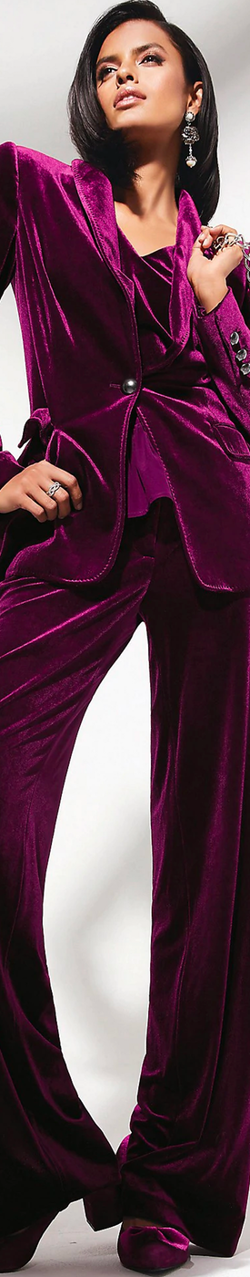 Madeleine Velvet Trousers and Jacket