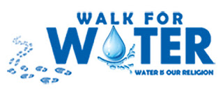 Adrobe Home Delivers Holy Krishna Pushkar Water Krishna Jal Walk for Water, an NGO which is working to save water on earth