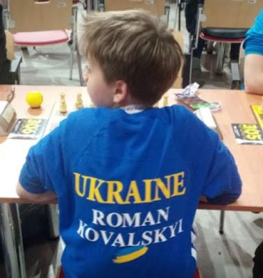 Юный украинский шахматист отказался говорить на русском языке со своим соперником из России