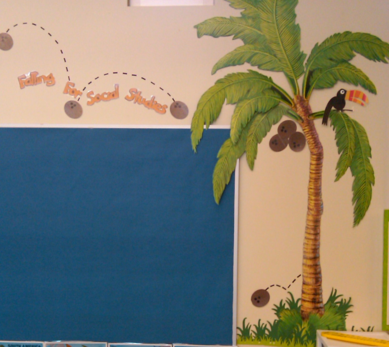 Tropical Luau Themed Classrooms