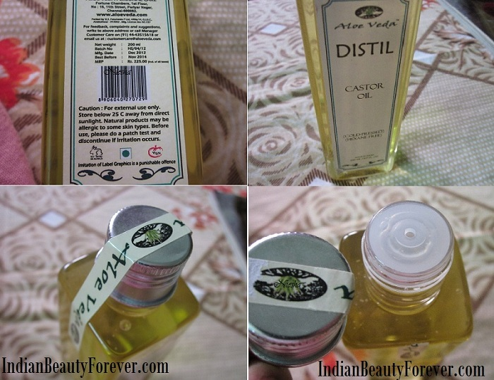 Castor Oil Benefits from Aloe Veda and Review