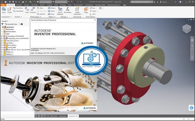 Autodesk Inventor Pro 2017.x64