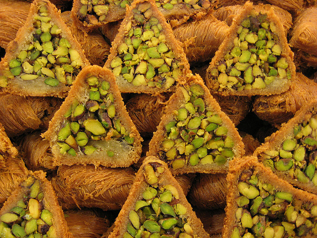 Gateau orientale pistache